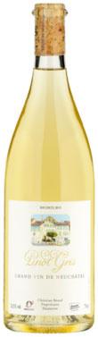 Wein Schweiz NEUCHÂTEL PINOT GRIS DEMETER 2015